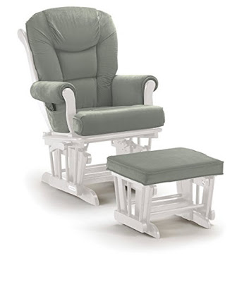Must-have baby products: Shermag Glider Ottoman Combo