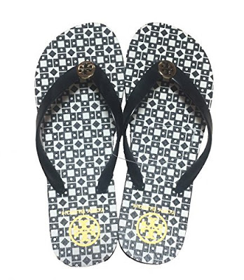 Best products for a new mom: Tory Burch Flip Flops