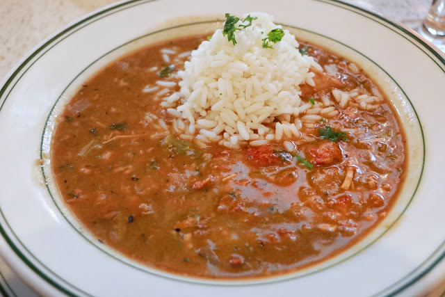 Texas to New Orleans road trip: Seafood Gumbo at The Gumbo Shop