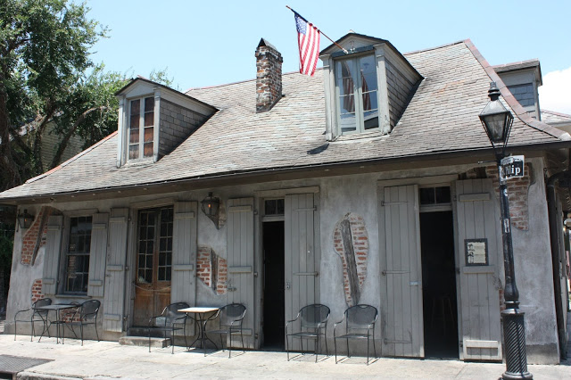 Lafitte's Blacksmith Shop Bar - must-see for a Texas to New Orleans road trip