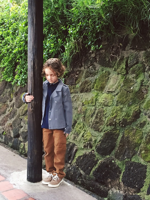 layered safari outfit for kids