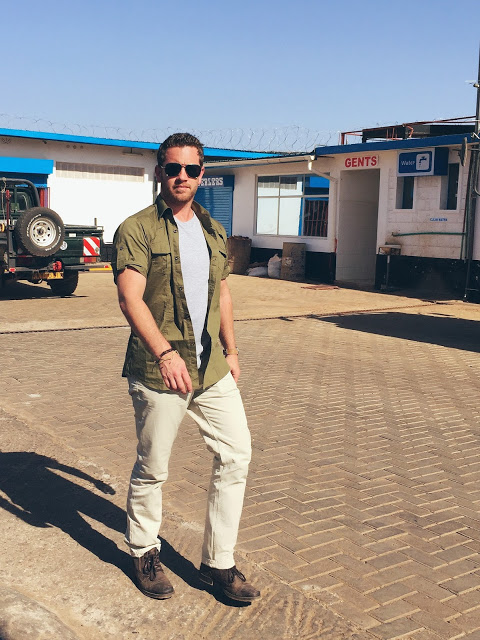 safari clothing for men