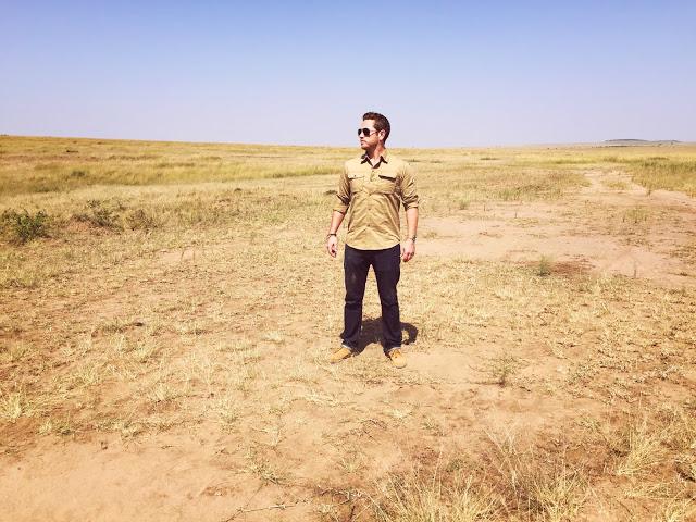 what to wear on safari: safari clothing for men