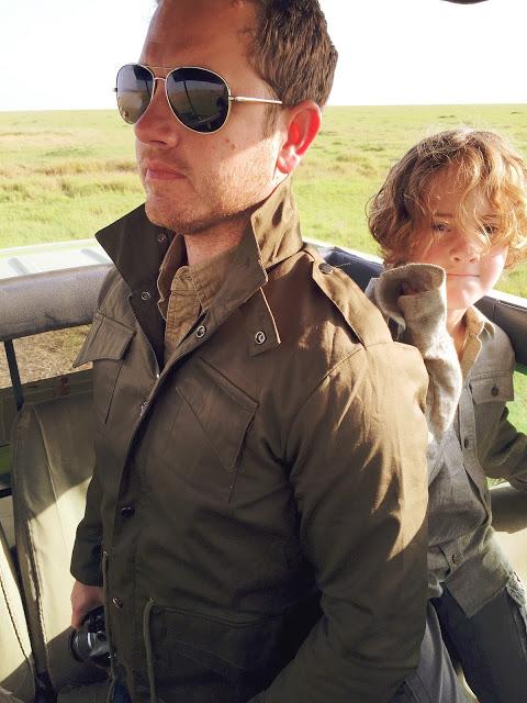 safari clothing for men: layered utility safari outfit