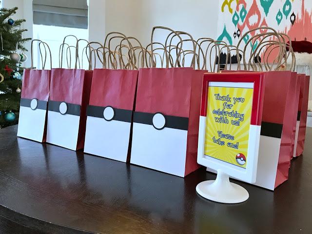 Pokemon Themed 7th Birthday Party