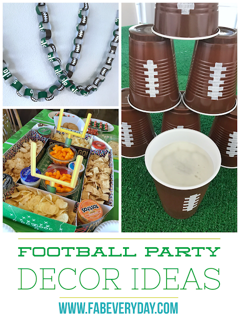 Football Party Decor Ideas Just In Time For Super Bowl Sunday