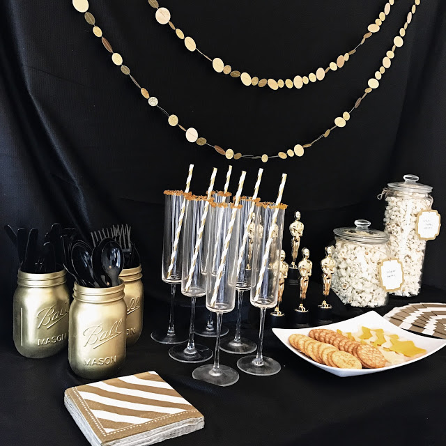 food and drink ideas for a hollywood movie theme oscar party