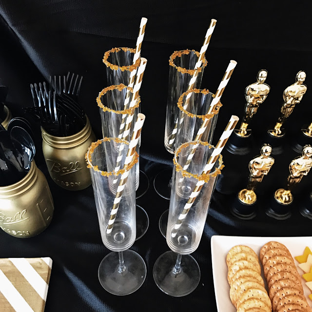 oscar party planning: drink ideas for a hollywood theme party or movie awards show watch party