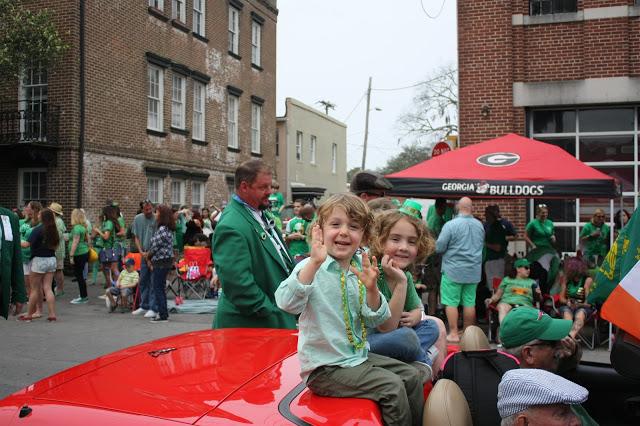 Savannah St. Patrick's Day Parade travel tips