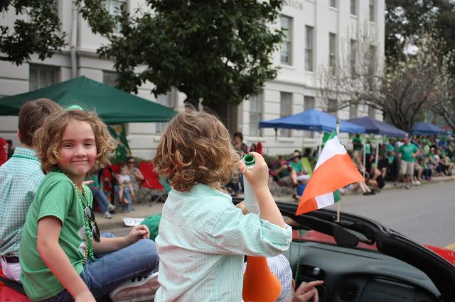 Savannah St. Patrick's Day Parade family travel tips