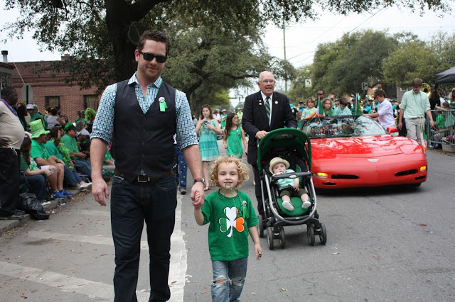 what to do in savannah, ga for st. patrick's day: the epic Savannah St. Patrick's Day Parade