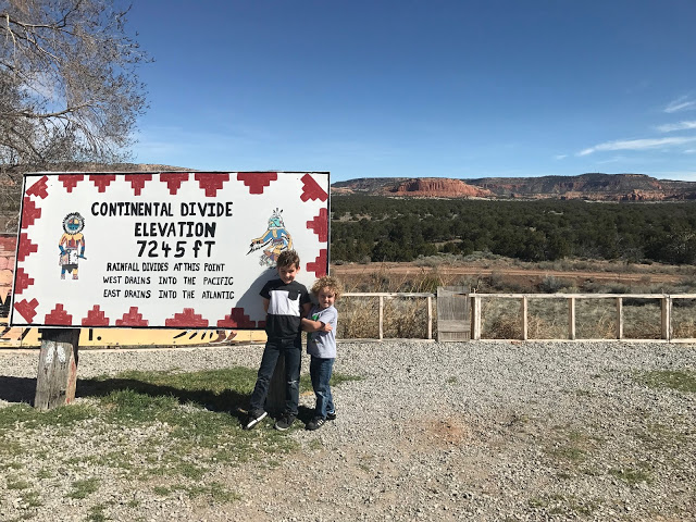 Southwest road trip with kids: Stop at the Continental Divide in New Mexico
