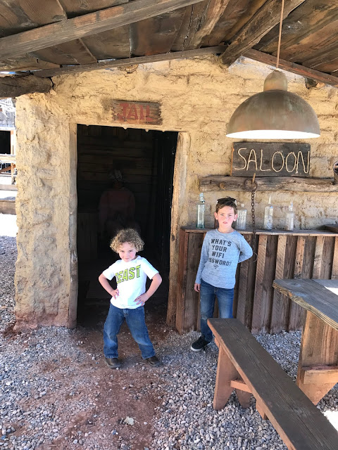 Southwest road trip with kids: Little Hollywood Land - Frontier Movie Town