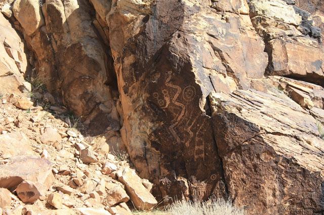 Southwest road trip stop: Parowan Gap Petroglyphs