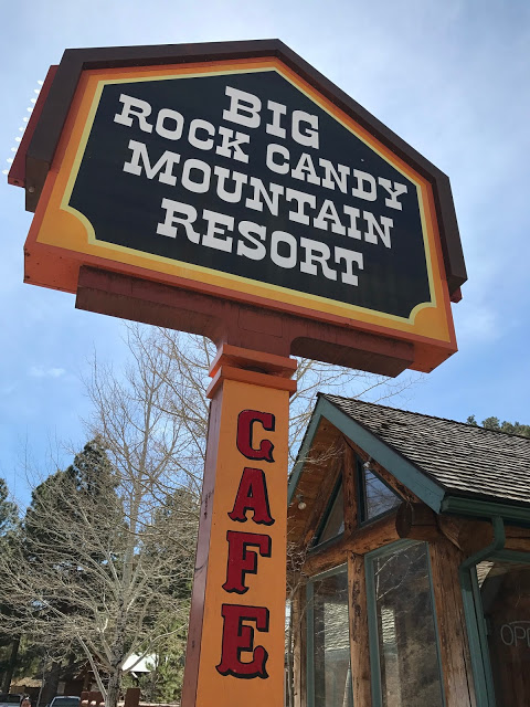 Southwest road trip roadside attractions: Big Rock Candy Mountain