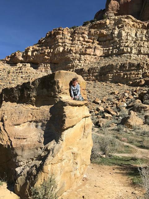 Parowan Gap Petroglyphs and Dinosaur Tracks: Southwest road trip itinerary