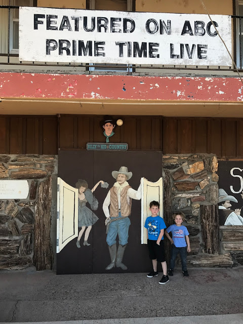 Billy the Kid Museum - Southwest road trip with kids