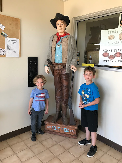 Southwest road trip with kids - Billy the Kid Museum