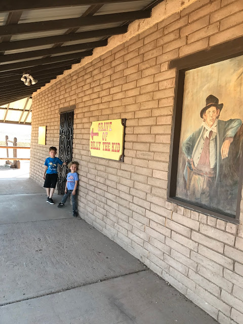Gravesite of Billy the Kid - Southwest road trip itinerary