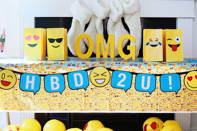 Emoji Beach Balls Also Acted As Party Favors