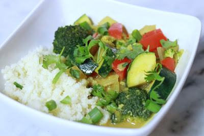 low carb vegan curry