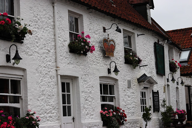 The Crown Hotel (circa 1650) in Thetford, UK