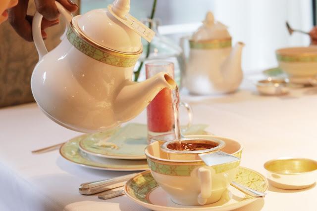 kid-friendly tea in london at grosvenor house