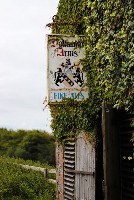 uk road trip: poltimore arms in devon