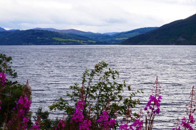 Loch Ness in Scotland's highlands