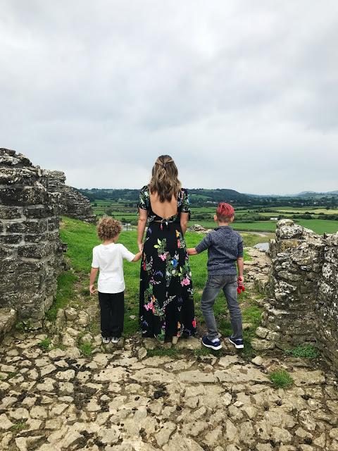 Dryslwyn Castle in wales