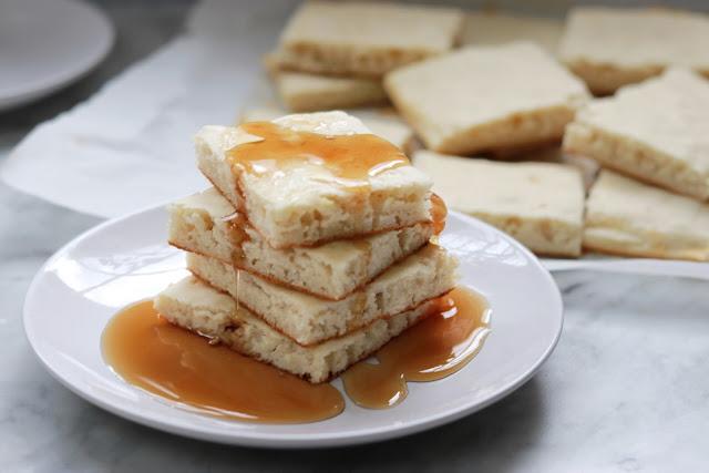 Breakfast recipe for busy mornings: Sheet Pan Pancakes