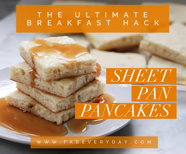 Sheet Pan Pancakes recipe - The breakfast shortcut every busy parent needs to know