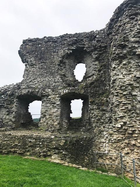 planning a road trip through wales: Dryslwyn Castle