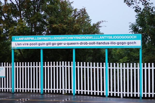the city with the longest name in Europe (and second longest in the world): Llanfairpwllgwyngyllgogerychwyrndrobwllllantysiliogogogoch