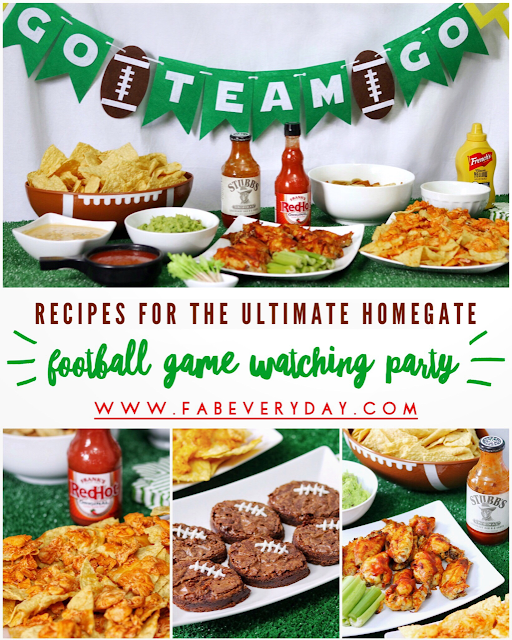 Recipes For Planning The Ultimate Homegate Football Game Watching