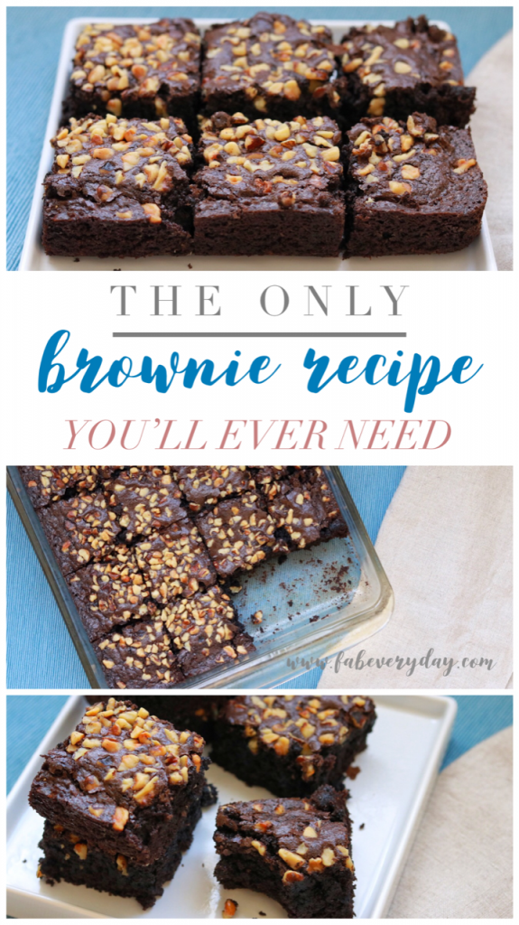 The last brownie recipe you'll ever need: Fab Everyday's Foolproof Classic Brownies recipe