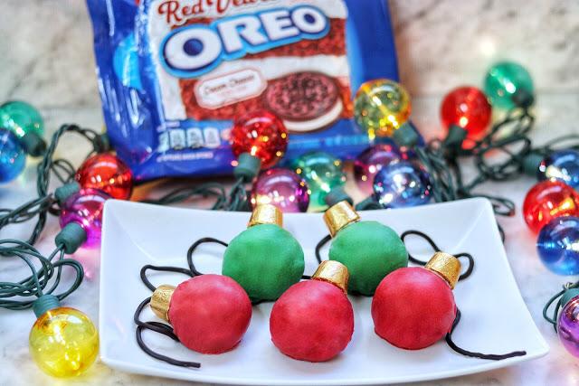 Oreo Cookie Balls Christmas Lights Recipe Fab Everyday