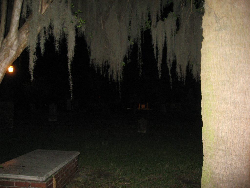 What to do during a weekend in Savannah GA: Ghost Tour