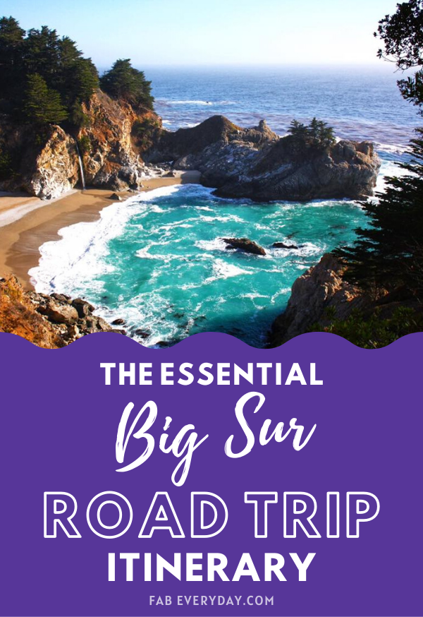 Big Sur itinerary