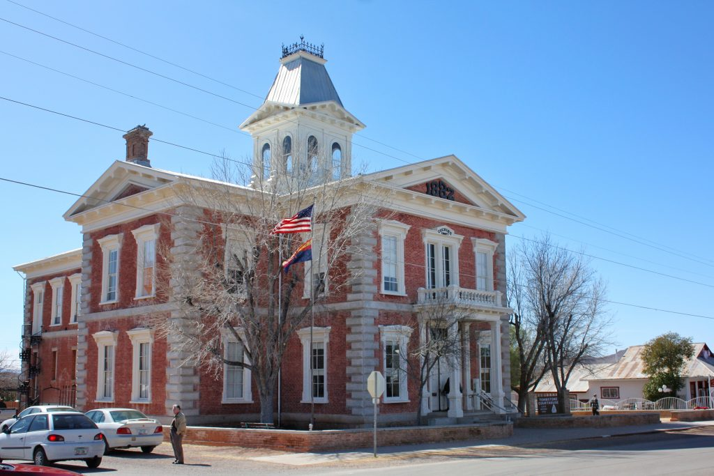 Tombstone AZ attractions: Tombstone Courthouse