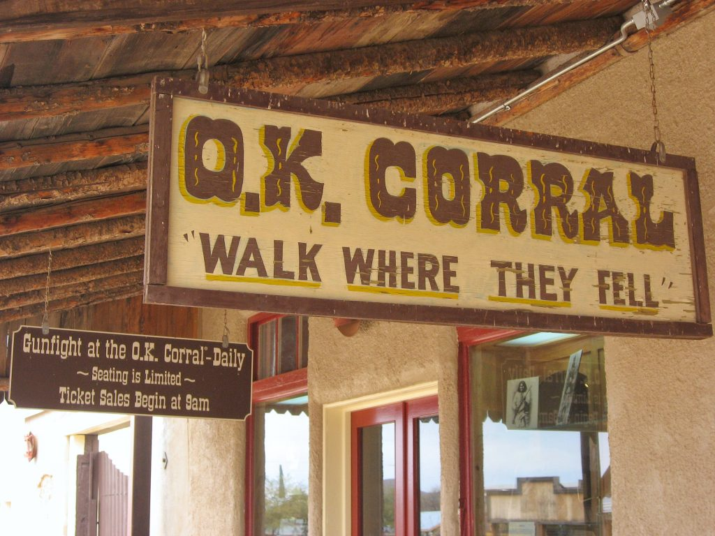 Tombstone attractions: The OK Corral