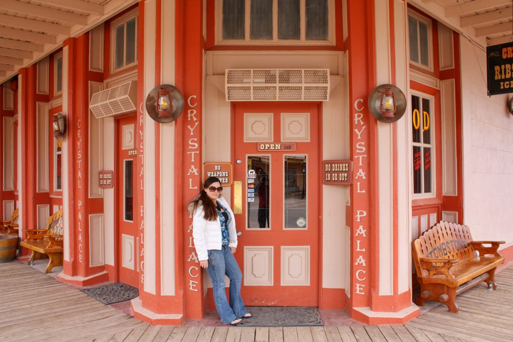 things to do in Tombstone Arizona: Crystal Palace Saloon
