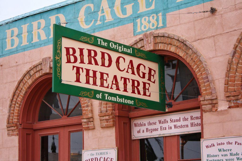 Tombstone AZ attractions: Bird Cage Theatre
