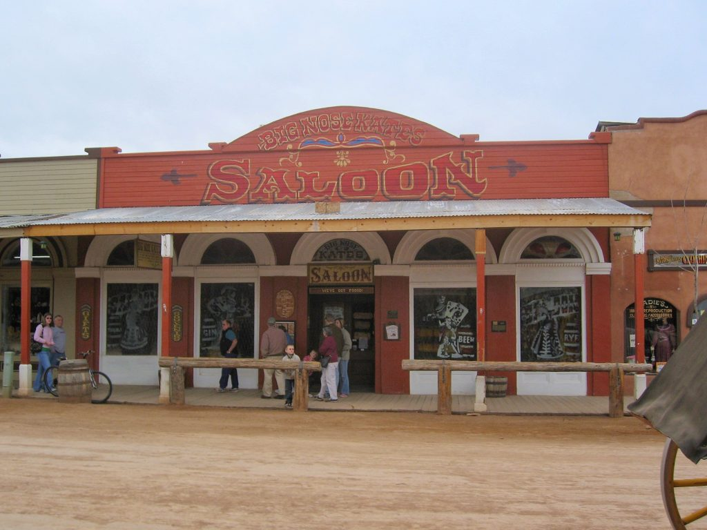 things to do in Tombstone AZ: Big Nose Kate's Saloon