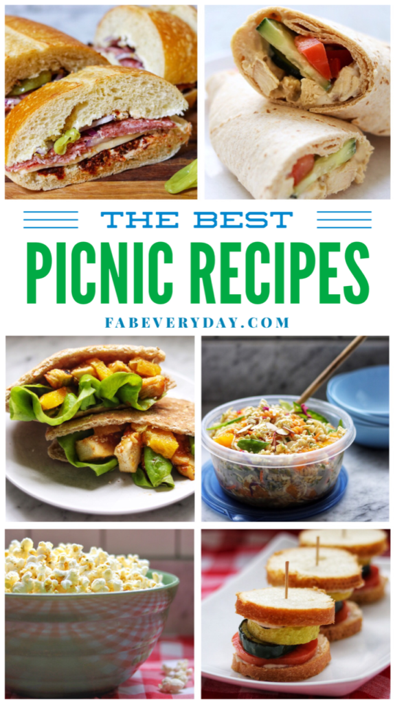 The Best Picnic Recipes (list of picnic food ideas)