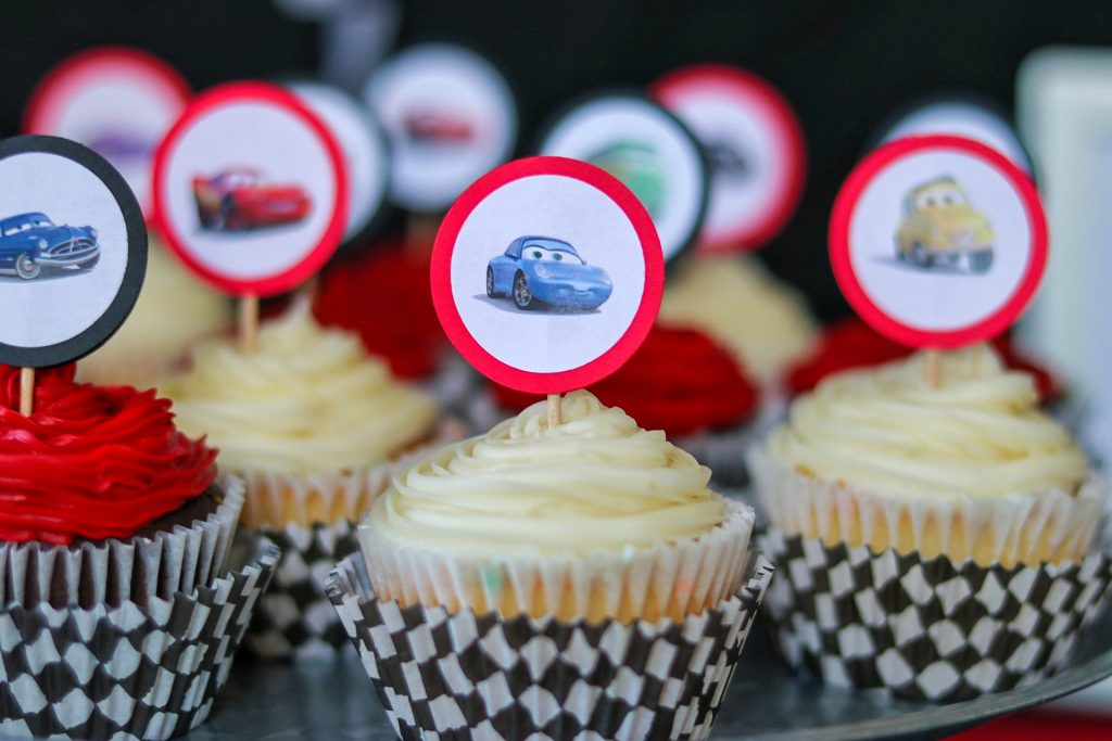 Disney Cars birthday printables - DIY cupcake toppers