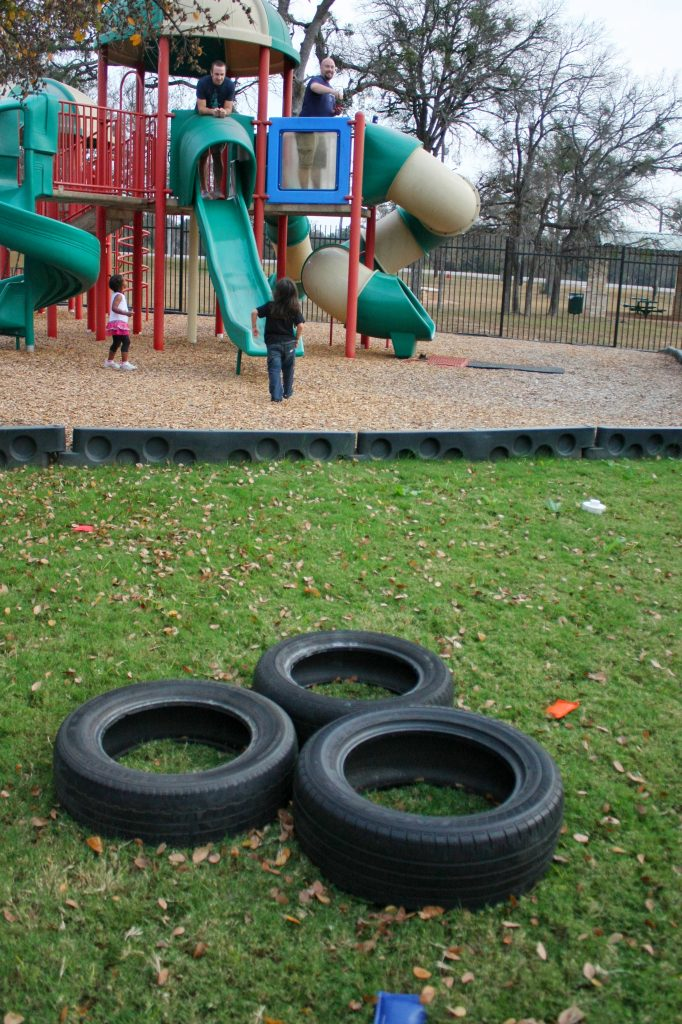 Disney Cars party games: Mater's Tire Toss