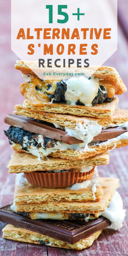 Creative s'more ideas: 15+ alternative s'mores recipes