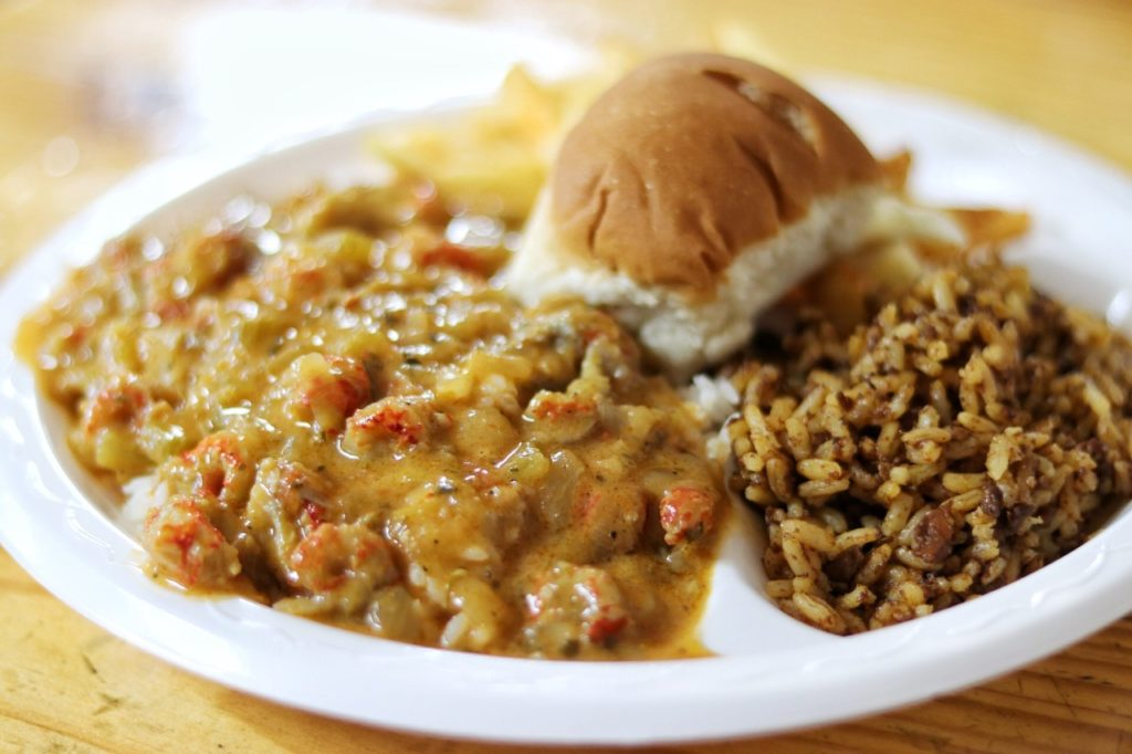 Texas to New Orleans road trip: Crawfish Etouffee at Poche's in Breaux Bridge, LA