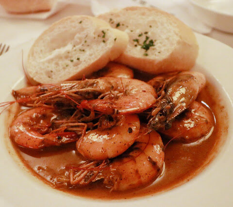 BBQ Shrimp at Mr. B's Bistro in New Orleans